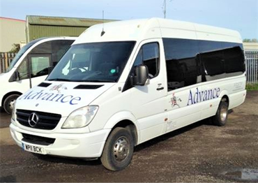 Our Air Conditioned 16 Seat Mercedes