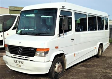 Our 24 Seat Mercedes Utility Coach